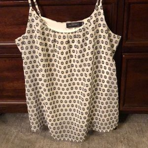 Polka dot tank top from the limited